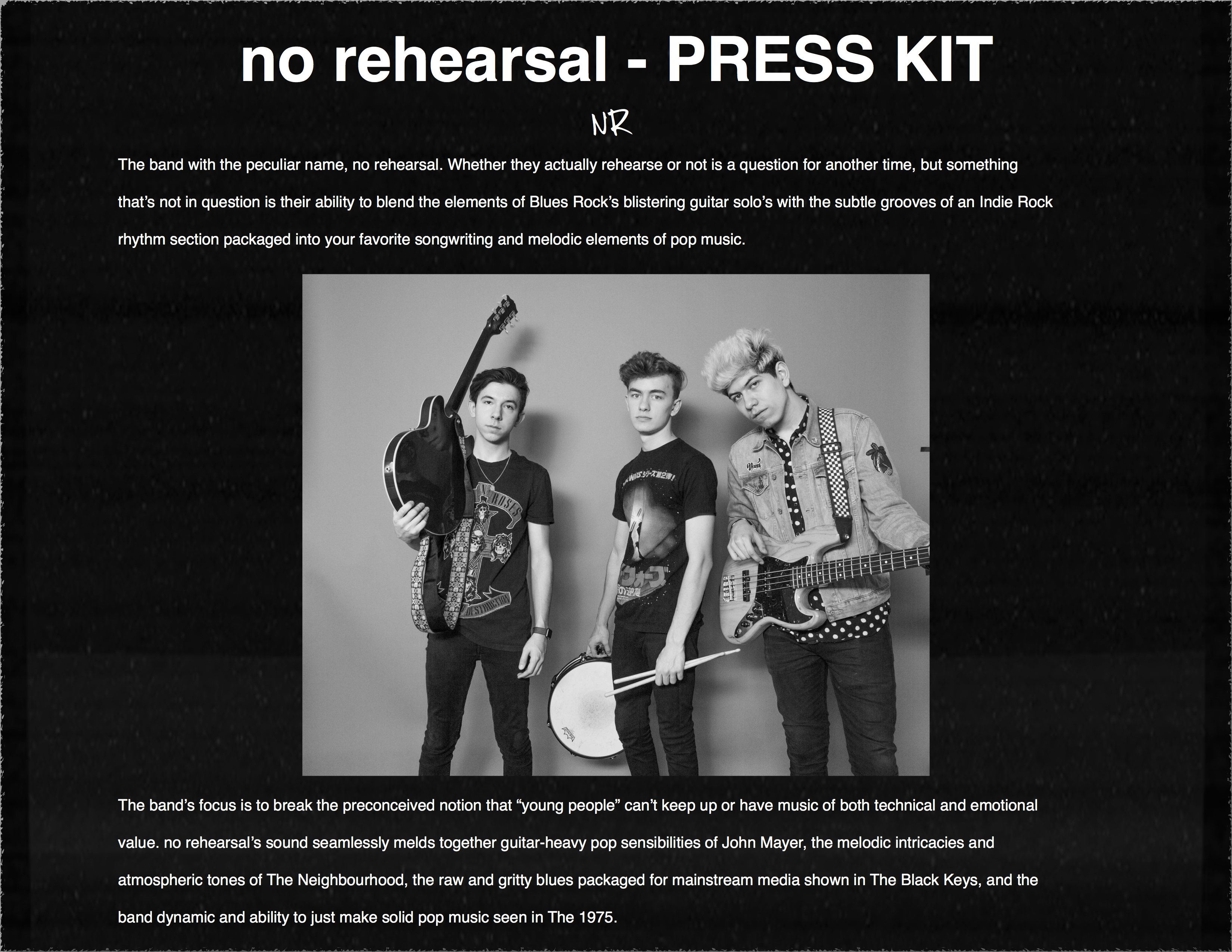 NR Official Presskit (May 2017)